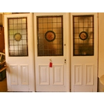Victorian Stained & Leaded Glass Entranceway