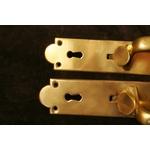 Pair Brass Thumb Latches