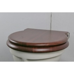 Teak Toilet Seat