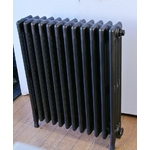 Four Column Radiator, Powdercoated Bronze