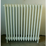 Four Column Radiator, Powdercoated