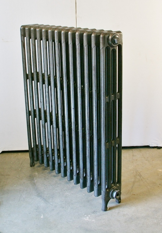 Four Column Radiator, Lacquered