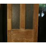 Stripped Pine Half Glazed Door