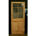 Stripped Pine Glazed Door
