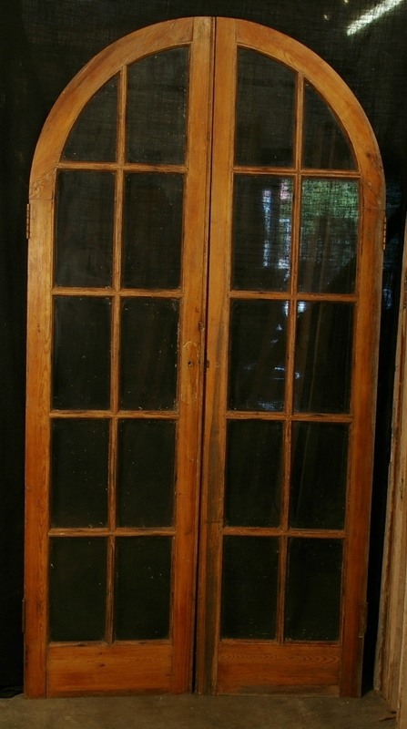 Arched Glazed Doors