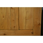 Stripped Pine Four Panel Door