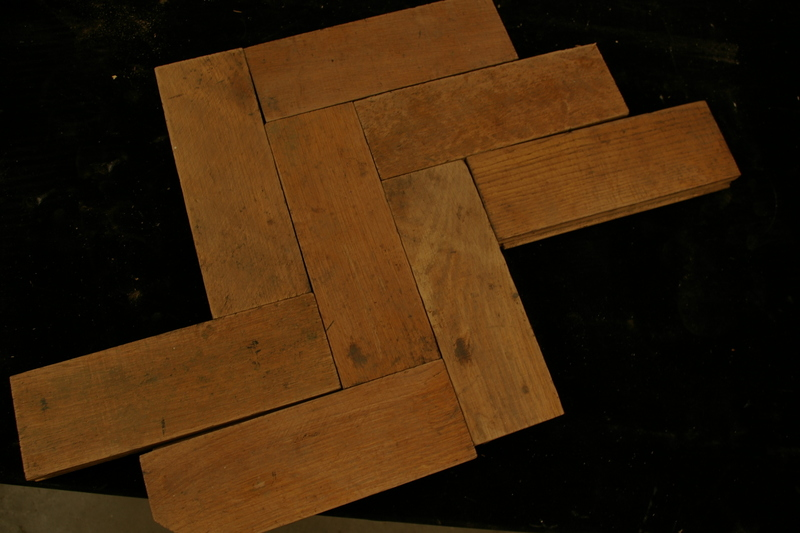 Oak Woodblock Flooring