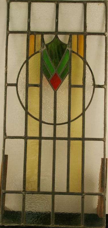 Art Deco Leaded Light