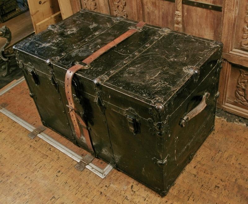 Metal Travel Trunk