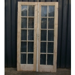 Pair Glazed Doors