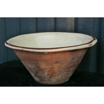 Antique Ceramic Dairy Bowl