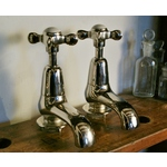 Nickel Plated Bath Taps