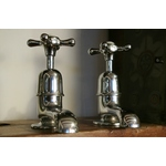 Chrome Antique Basin Taps
