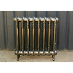 Polished Ornate Cast Iron Radiator
