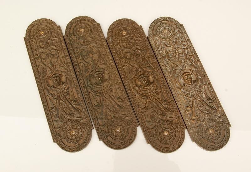 Cast Brass Finger Plates