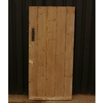 Stripped Pine Ledged Door