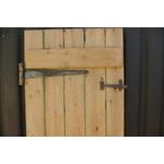 Stripped Pine Ledged Door