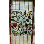 Floral Edwardian Leaded Light Window