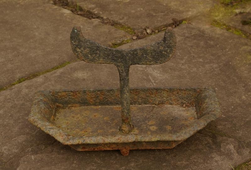 Iron Boot Scraper