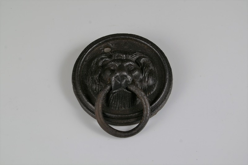 Iron Lions Head Ring