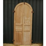 Pair Arched Panel Doors