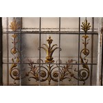 Stained Glass Arched Door