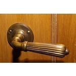 Polished Brass Lever Door Handles