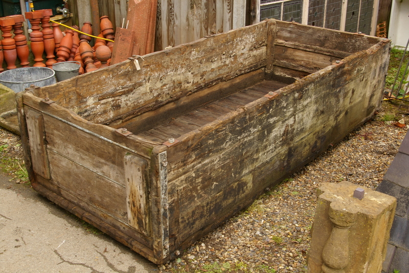 Very Large Wooden Trough