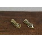 Brass Beehive Escutcheon