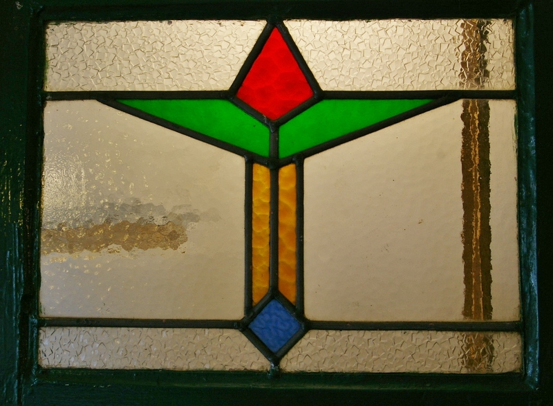 Art Deco Leaded Windows