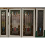 Stained & Leaded Glass Doorway